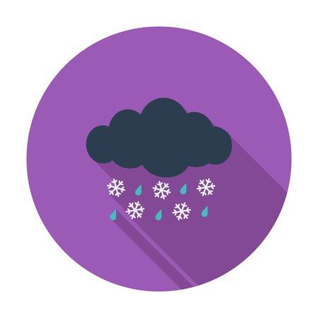 sleet: Sleet icon
