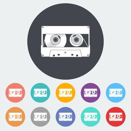 casette: Audio cassette icons