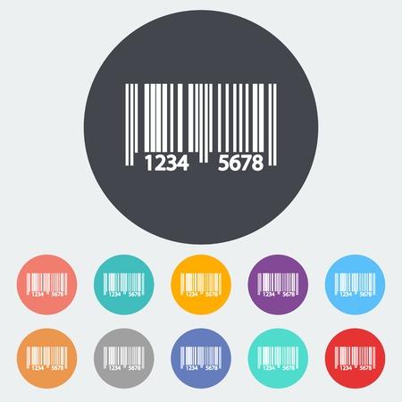 Barcode symbols Vector