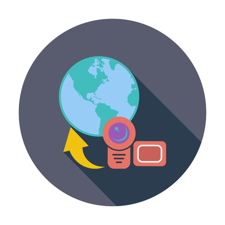 Upload video icon Vector