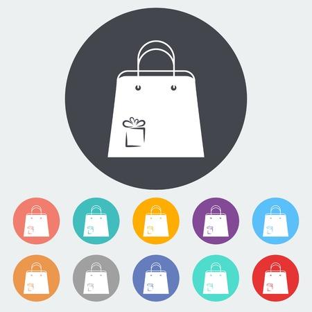 paperbag: Holiday bag Illustration