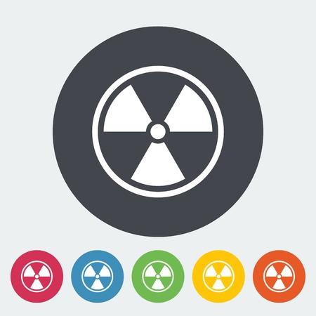 放射能の危険の記号 ロイヤリテ...