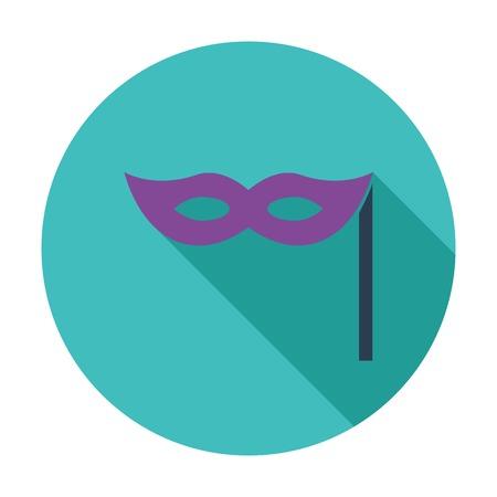 masquerade mask: Mask icon Illustration