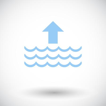 Edd. Singola icona piatta su sfondo bianco. Illustrazione vettoriale.