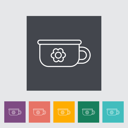 piddle: Potty thin line flat vector related icon set for web and mobile applications. It can be used as - logo, pictogram, icon, infographic element. Vector Illustration.