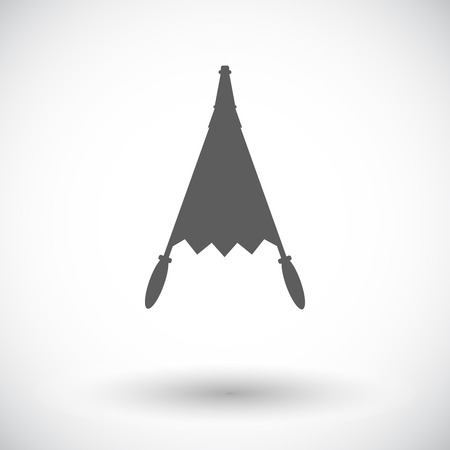 forge: Belows. Single flat icon on white background. Vector illustration.