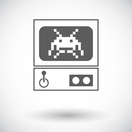 arcade: Retro Arcade Machine.