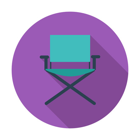 displaced: Camping chair.