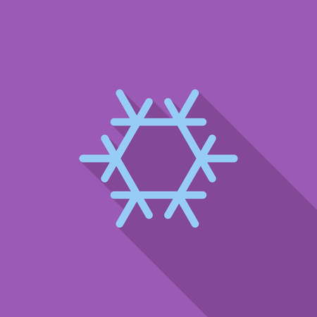ambiance: Air conditioning icon. Flat vector related icon with long shadow for web and mobile applications.