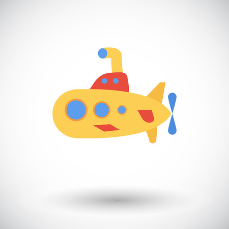 periscope: Submarine icon. Flat vector related icon for web and mobile applications. It can be used as - logo, pictogram, icon, infographic element. Vector Illustration.