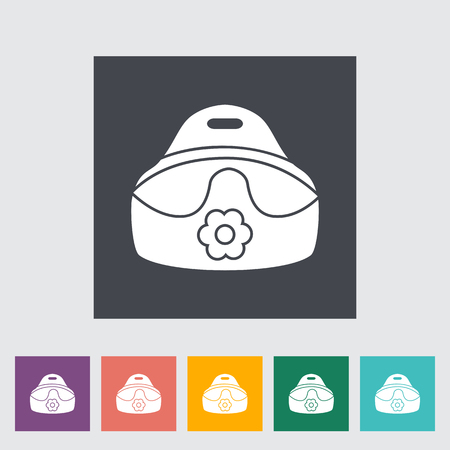 demolish: Potty icon. Flat vector related icon for web and mobile applications. It can be used as - logo, pictogram, icon, infographic element. Vector Illustration. Illustration