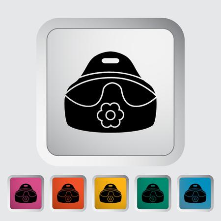 vasino: Icona vasino. Appartamento vettore icona correlata per il web e applicazioni mobili. Vettoriali