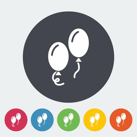 ballon: Ballon icon. Flat vector related icon for web and mobile applications.
