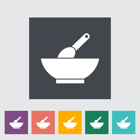 lactic: Baby food icon. Flat vector related icon for web and mobile applications.