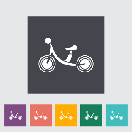 bicycle icon: Bicycle icon. Flat vector related icon for web and mobile applications. It can be used as -  , pictogram, icon, infographic element. Vector Illustration. Illustration