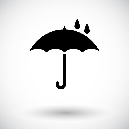 umbrella: Umbrella Icon illustration