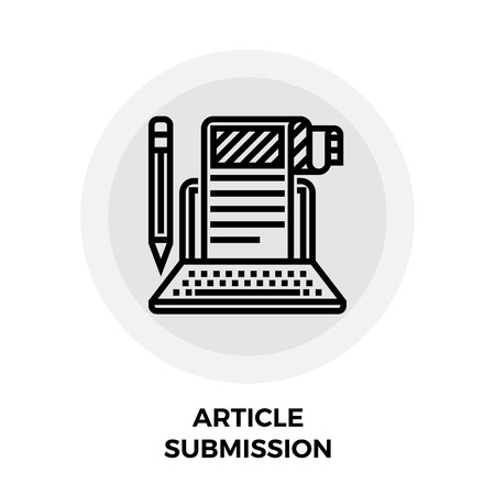 an article: Article Submission Icon