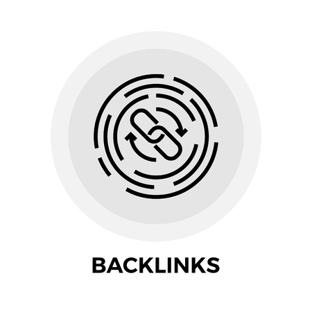 links: Back links Icon
