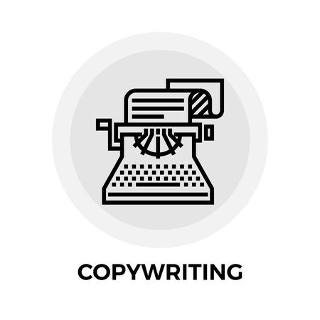 copy writing: Copy writing Icon