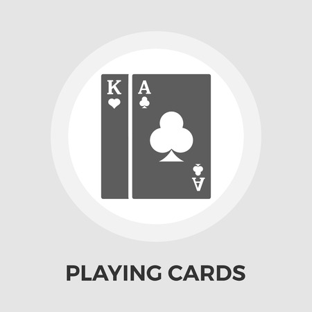 double the chances: Playing Cards Icon