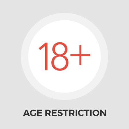 Age Restriction Icon Vector. Age Restriction Icon Flat. Age Restriction Icon Image. Age Restriction Icon JPEG. Age Restriction Icon. Age Restriction Icon JPG. Age Restriction Icon Object.