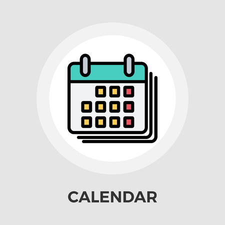 diary: Calendar Icon Vector. Flat icon isolated on the white background.