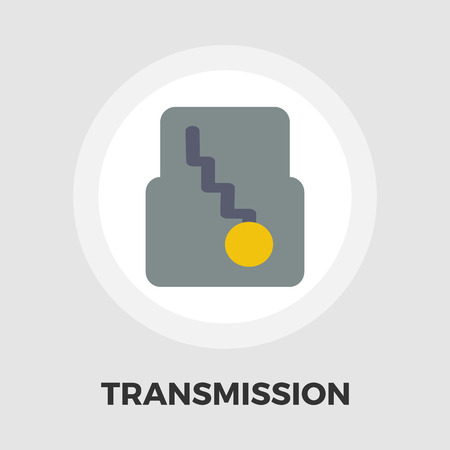 automatic transmission: Automatic gear icon vector. Flat icon isolated on the white background.