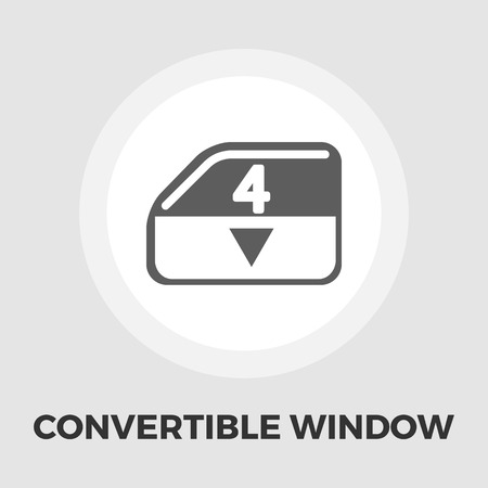 raiser: Window lock icon vector. Flat icon isolated on the white background. Editable EPS file. Vector illustration. Illustration