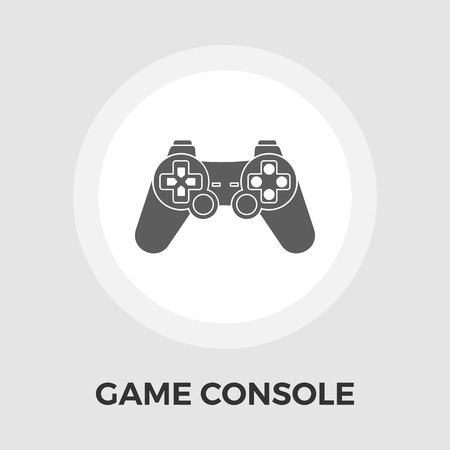 button art: Game icon vector. Flat icon isolated on the white background.. Illustration