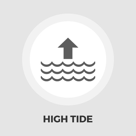 high sea: Edd icon vector. Flat icon isolated on the white background.