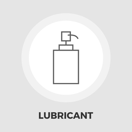 lubricant: Lubricant icon vector. Flat icon isolated on the white background. Editable EPS file. Vector illustration. Illustration