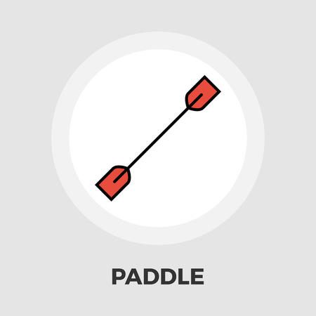 Paddle icon icon vector. Flat icon isolated on the white background. Editable EPS file. Vector illustration.