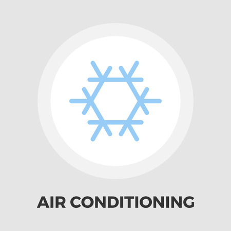 ambiance: Air conditioning icon vector. Flat icon isolated on the white background. Editable EPS file. Vector illustration.