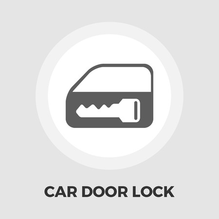 lift lock: Window lock icon vector. Flat icon isolated on the white background.