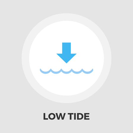 tide: Edd icon vector. Flat icon isolated on the white background. Editable EPS file. Vector illustration.