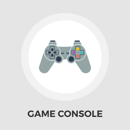 player controls: Game icon vector. Flat icon isolated on the white background. Editable EPS file. Vector illustration.