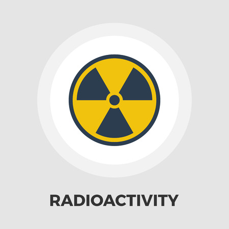 petrol bomb: Radioactivity icon vector. Flat icon isolated on the white background. Editable EPS file. Vector illustration.