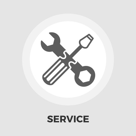 machanic: Repair icon vector. Flat icon isolated on the white background. Editable EPS file. Vector illustration.
