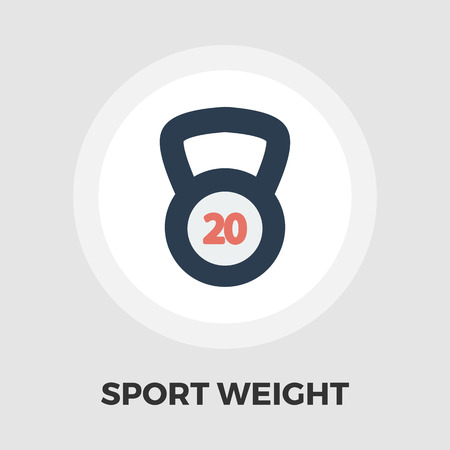 oversize: Sport weight icon vector. Flat icon isolated on the white background. Editable EPS file. Vector illustration. Illustration