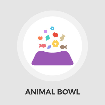 empty the bowl: Animal Bowl Icon Vector. Flat icon isolated on the white background. Editable EPS file. Vector illustration.