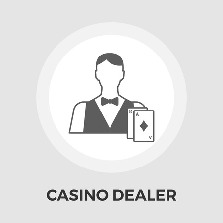 dealer: Casino Dealer Icon Vector. Casino Dealer Icon Flat. Casino Dealer Icon Image. Casino Dealer Icon JPEG. Casino Dealer Icon EPS. Casino Dealer Icon JPG. Casino Dealer Icon Object.