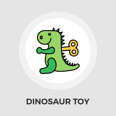 animated alien: Dinosaurus icon vector. Flat icon isolated on the white background. Editable EPS file. Vector illustration.