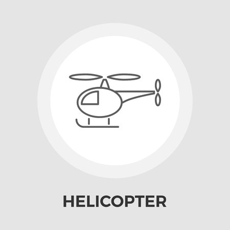 transposition: Helicopter icon vector. Flat icon isolated on the white background. Editable EPS file. Vector illustration. Illustration