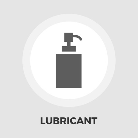 packaging equipment: Lubricant icon vector. Flat icon isolated on the white background. Editable EPS file. Vector illustration. Illustration