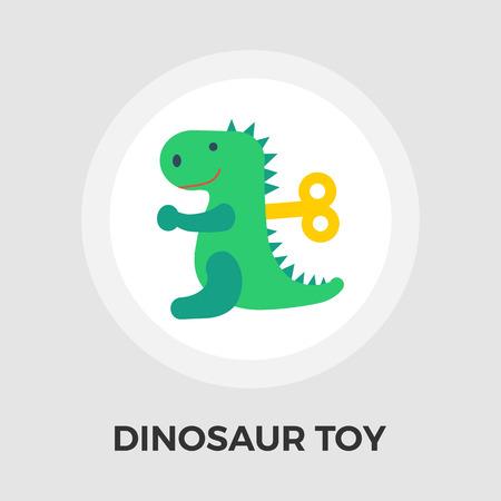 dinosaurus: Dinosaurus icon vector. Flat icon isolated on the white background. Editable EPS file. Vector illustration.