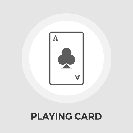 double the chances: Playing Cards Icon Vector. Flat icon isolated on the white background. Vector illustration.