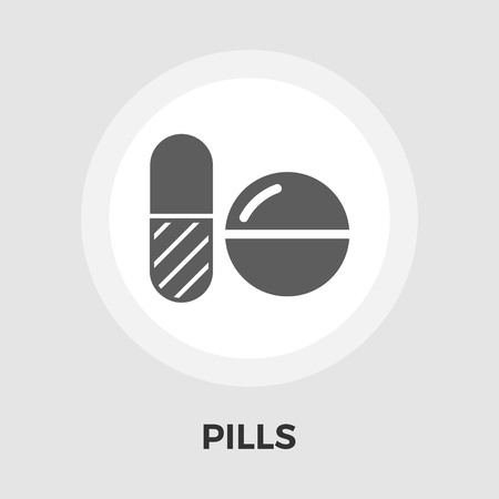 contraceptive: Contraceptive pills icon vector. Flat icon isolated on the white background. Vector illustration. Illustration