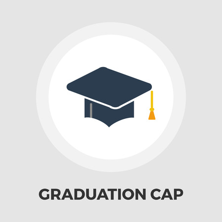 doctorate: Education icon vector. Flat icon isolated on the white background.  Vector illustration. Illustration