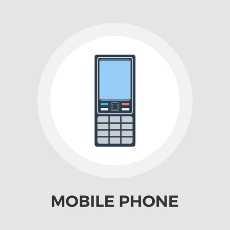 digitized: Phone icon vector. Flat icon isolated on the white background.  Vector illustration.
