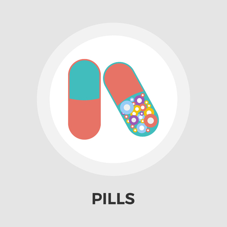 a tablet blister: Contraceptive pills icon vector. Flat icon isolated on the white background. Editable EPS file. Vector illustration.
